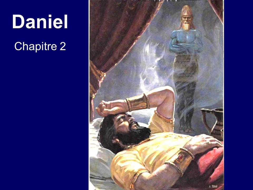 Daniel chapitre 2 29.Sur ta couche, ô roi, il test monté des pensées touchant ce qui sera après ce temps-ci; et celui qui révèle les secrets ta fait connaître ce qui arrivera [révélation provenant du Dieu de Daniel].
