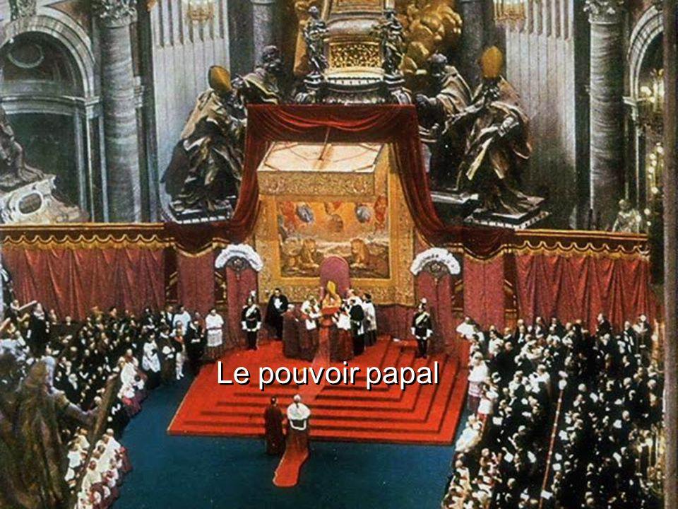 Le pouvoir papal
