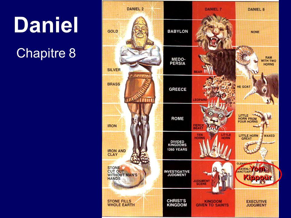 Daniel Chapitre 8 Yom Kippour