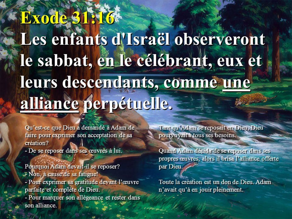 SAMEDI Le salut par la foi en Jésus-Christ Dans le repos des œuvres de Dieu SAMEDI Le salut par la foi en Jésus-Christ Dans le repos des œuvres de Dieu