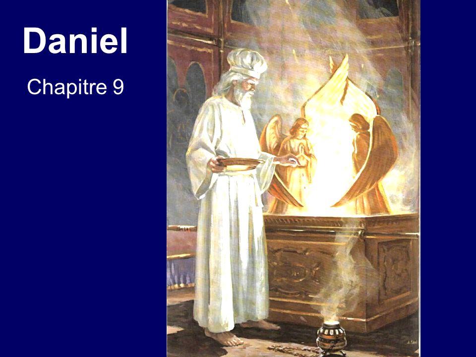 Daniel chapitre 9 [La mort dÉtienne, en octobre 34, fut lévénement qui marqua le rejet ultime de Dieu par la nation juive et correspond à la fin des 70 semaines de sursis.