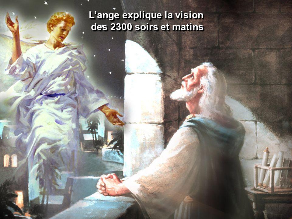 Lange explique la vision des 2300 soirs et matins des 2300 soirs et matins Lange explique la vision des 2300 soirs et matins des 2300 soirs et matins