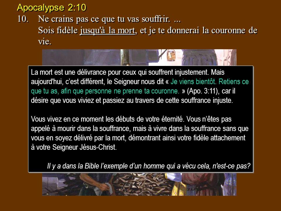 Job 1:8-12 8.LEternel dit à Satan: As-tu remarqué mon serviteur Job.