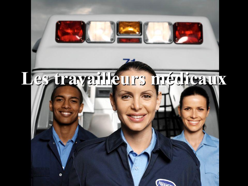 Les travailleurs médicaux