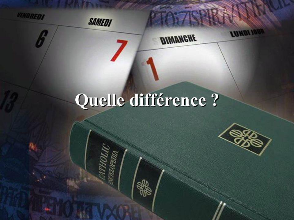 Quelle différence ?
