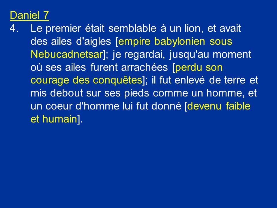 La petite corne Daniel 7:8 Je considérai les cornes, et voici, une autre petite corne sortit du milieu d elles, Cette puissance doit émerger du milieu des dix puissances dEurope.