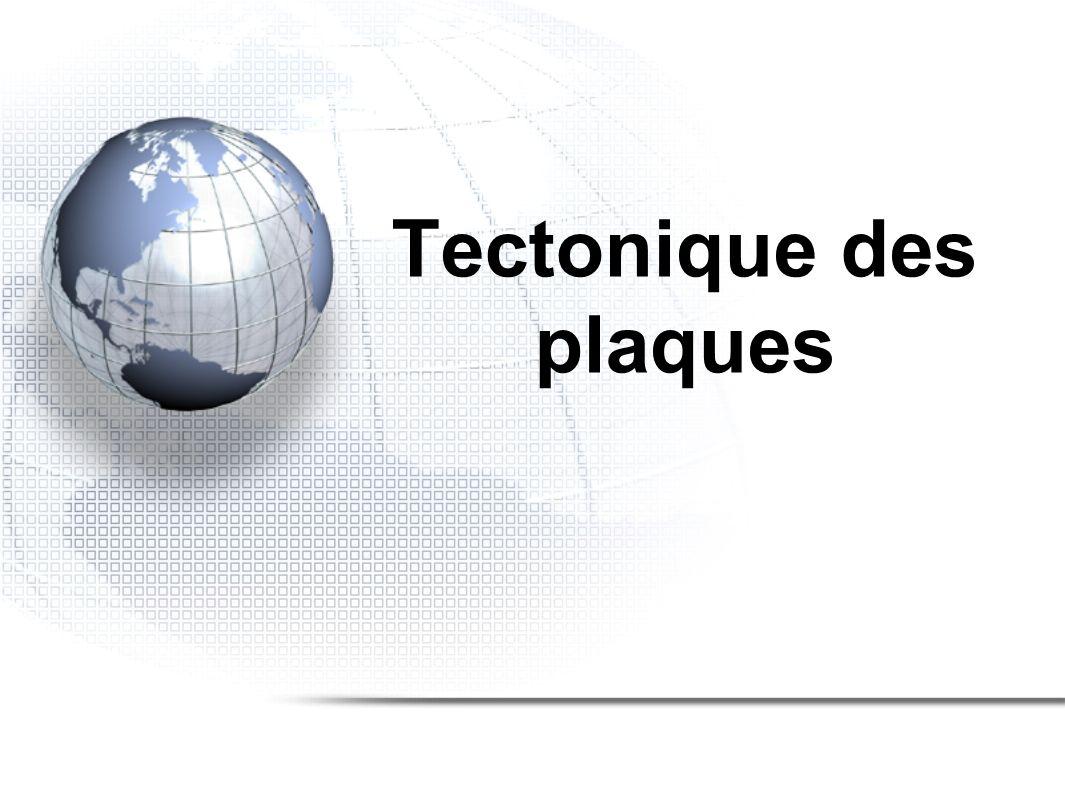 La planète terre 1.Histoire géologique 2.Tectonique des plaques 3.Composition de la terre 4.Cycle des roches