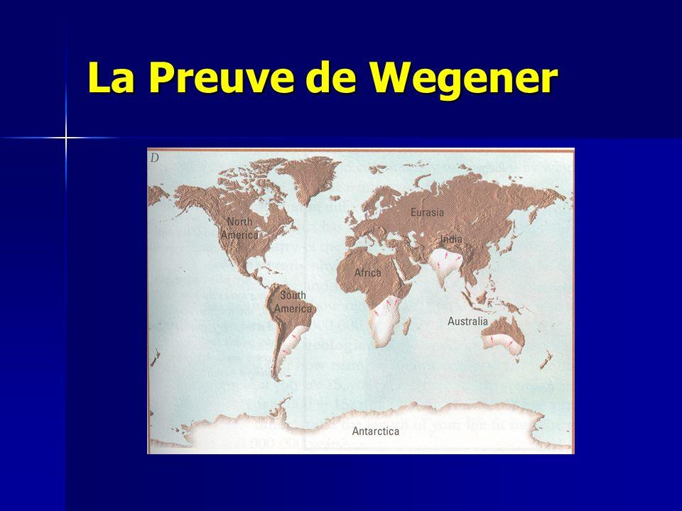 La Preuve de Wegener
