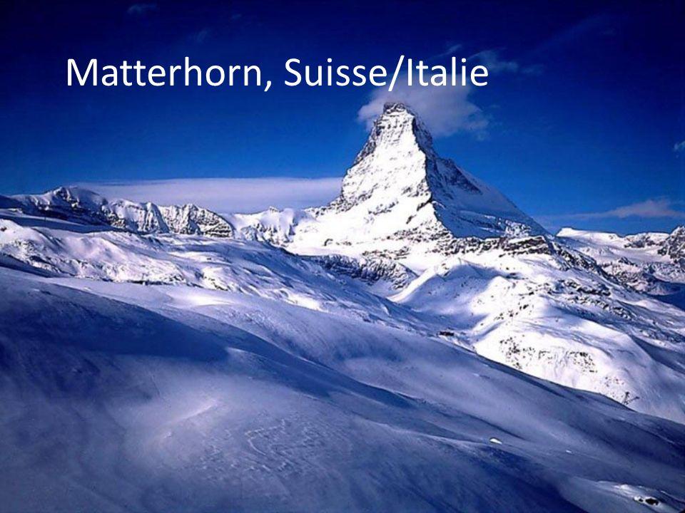 Matterhorn, Suisse/Italie