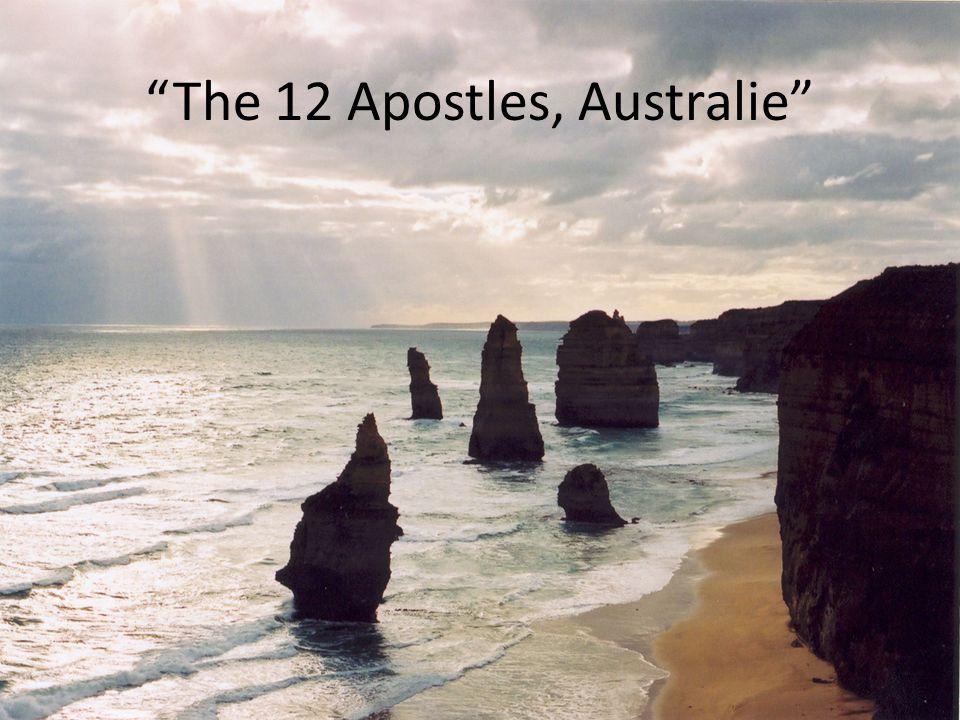 The 12 Apostles, Australie