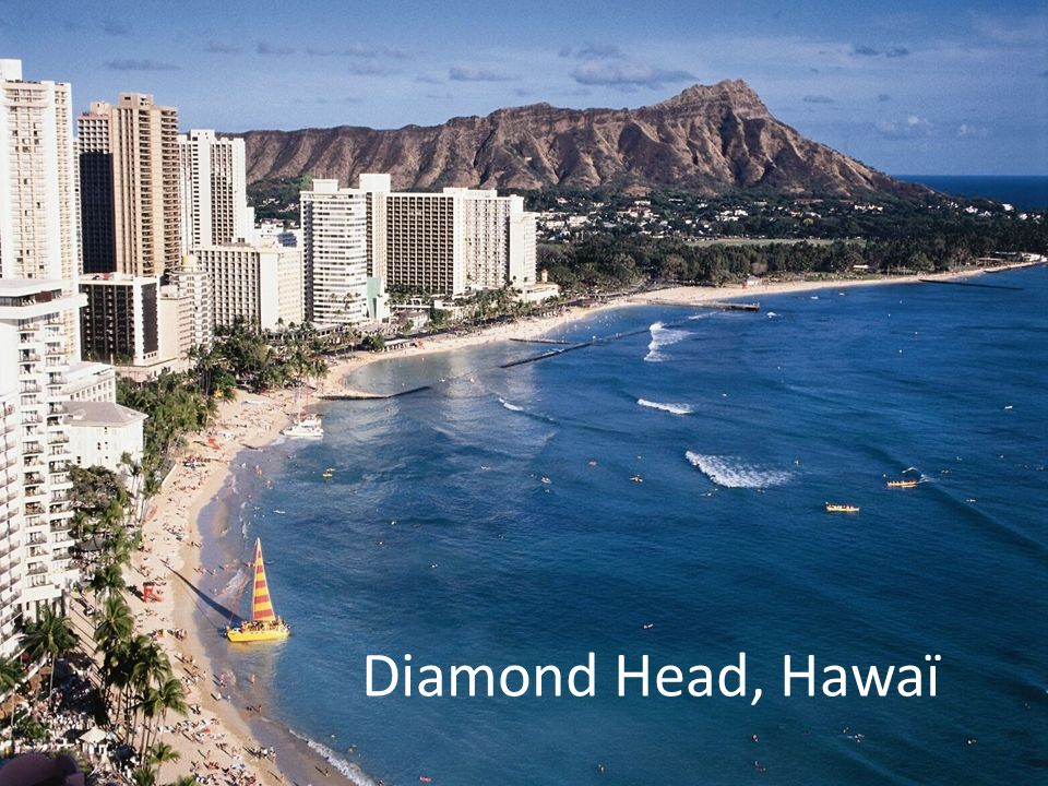 Diamond Head, Hawaï