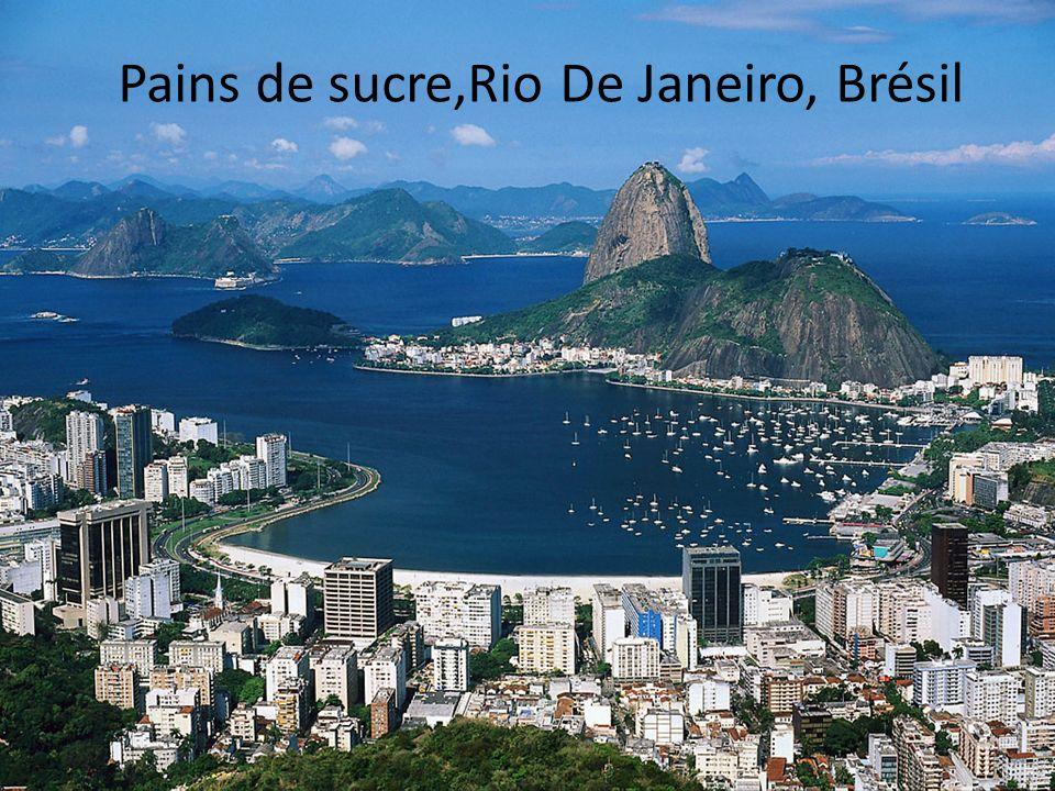 Pains de sucre,Rio De Janeiro, Brésil