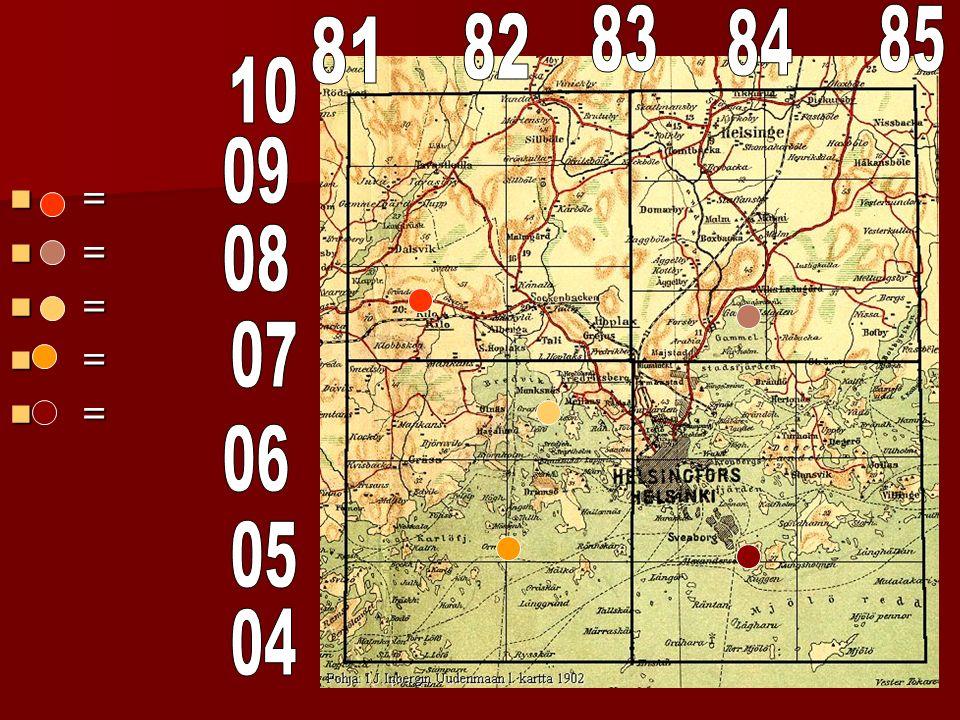 Le quadrillage cartographique (quadrillage militaire à six chiffres) Exercises p.