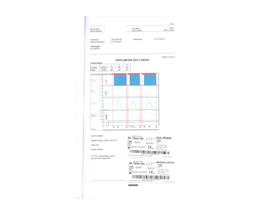 Cystographie rétrograde non faisable car allergique+++ échographie vesicorénale: paroi vésicale légèrement épaissie à 4mm, pas dirrégularité, reins de taille normale pas de dilatation.