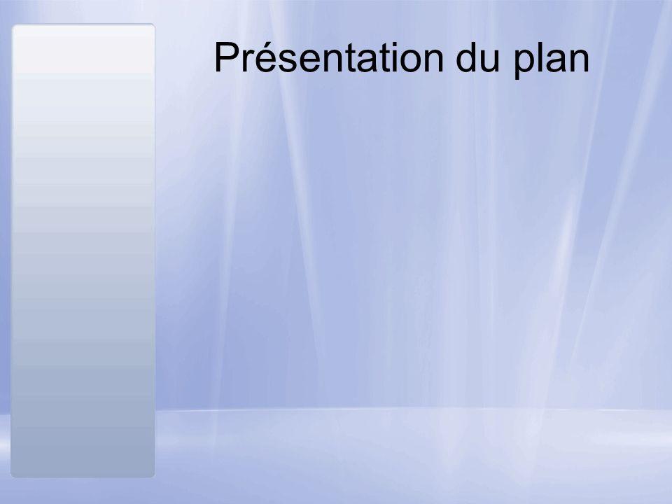 Présentation du plan