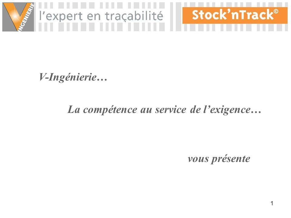 1 V-Ingénierie… La compétence au service de lexigence… vous présente