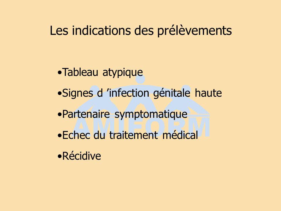Mycoses récidivantes (15%) Facteur favorisant : ATB, diabète, grossesse Eliminer une autre cause infectieuse (herpès) Mycogramme Traitement longue durée per os anti-fongique non absorbable Mycostatine 2cpx3/j 10j éradication locale Partenaire