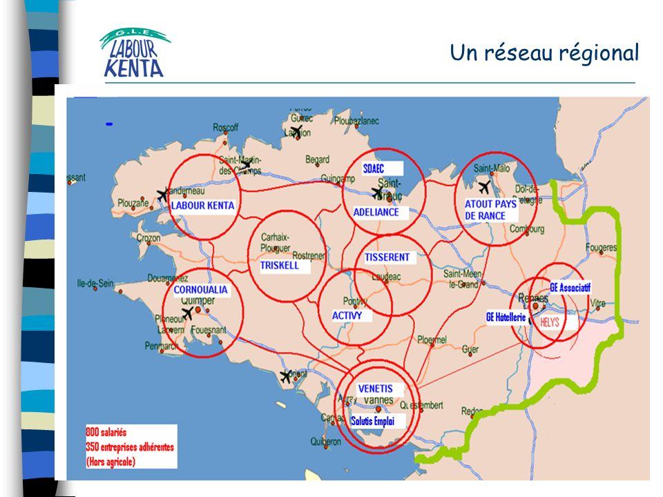 Un réseau régional