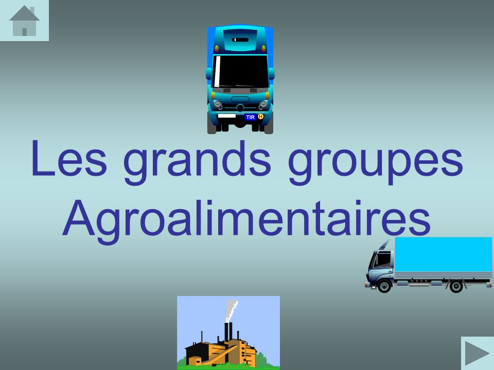Les grands groupes Agroalimentaires