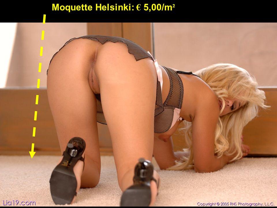 Moquette Helsinki: 5,00/m ²