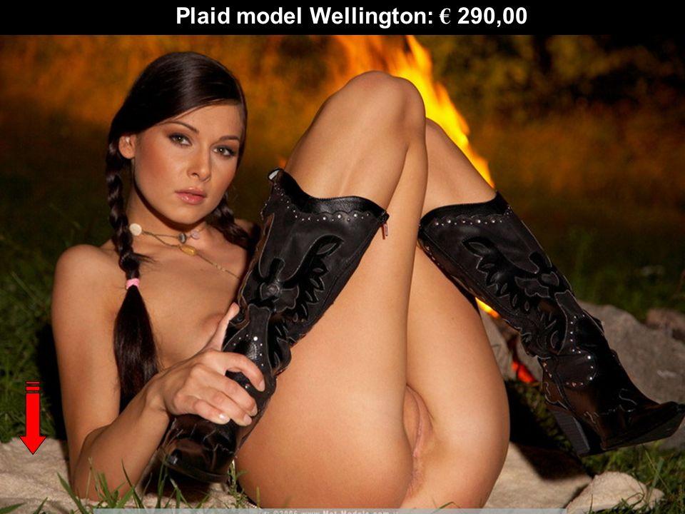 Plaid model Wellington: 290,00