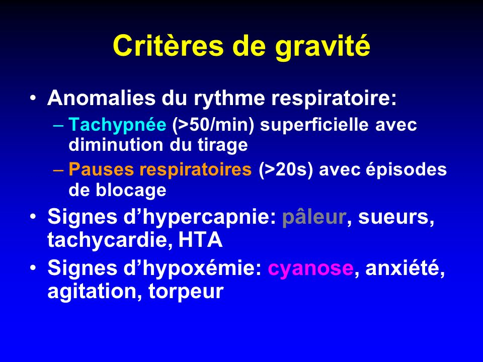 Traitement de la laryngite aiguë Monitorage: FC, PA, FR, SpO 2 Aérosols dadrénaline 5ml=5mg en 15 min.