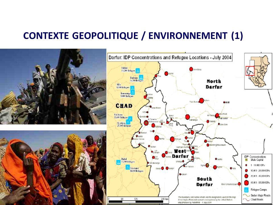 CONTEXTE GEOPOLITIQUE / ENVIRONNEMENT (1)