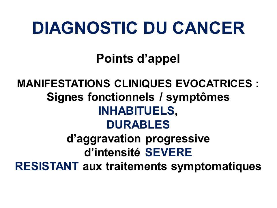 Cas clinique Digestif – ED Manifestations cliniques des cancers (1) Mr Z, âgé de 63 ans consulte pour des douleurs abdominales ayant débuté depuis plus de 6 mois et persistantes malgré plusieurs traitements antispasmodiques et antalgiques.