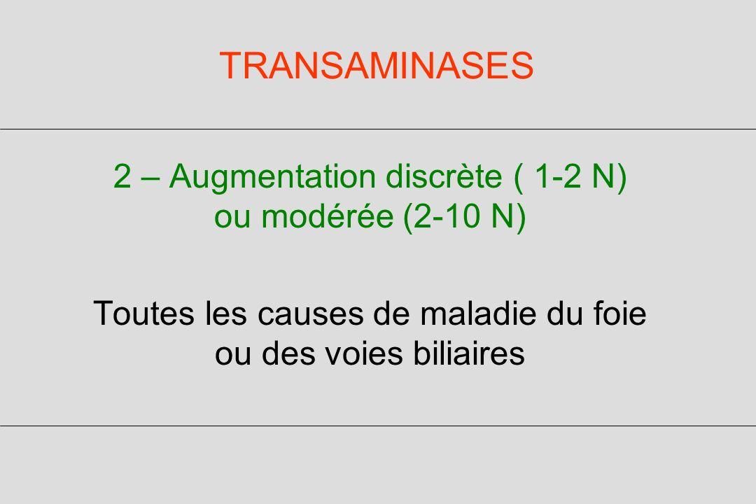 TRANSAMINASES ASAT > ALAT -Atteinte musculaire (CPK) -Hépatopathie alcoolique, même sans cirrhose -Cirrhose, quelle quen soit la cause