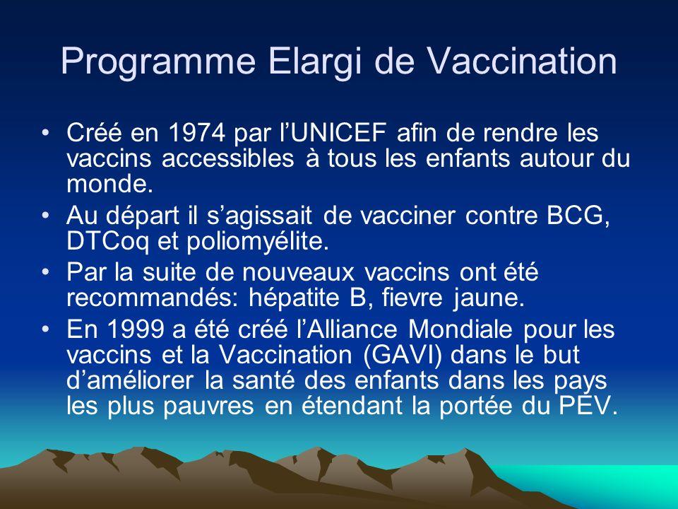 Les grands programmes internationaux Programme Elargi de vaccination –GAVI Programme International de Lutte contre le VIH-SIDA, le Paludisme et la Tub