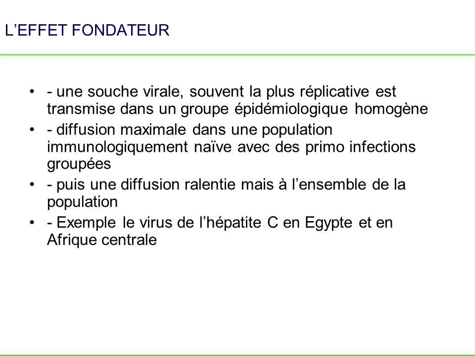 UNE INFECTION MASSIVE PAR VOIE PARENTÉRALE DU VIRUS DE LHÉPATITE C En Afrique Centrale Campagnes dans les années 20-60 contre - Fièvre Jaune - Trypanosomiase En Egypte Bilharzioses et barrage dAssouan HCV Genotype 4 Mer Rouge NIL