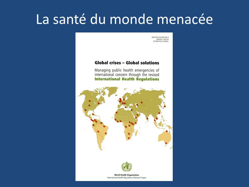 Sécurité sanitaire internationale … des alertes et des crises multiples depuis 30 ans, jusqu à Fukushima, ou le retour du H1N1....
