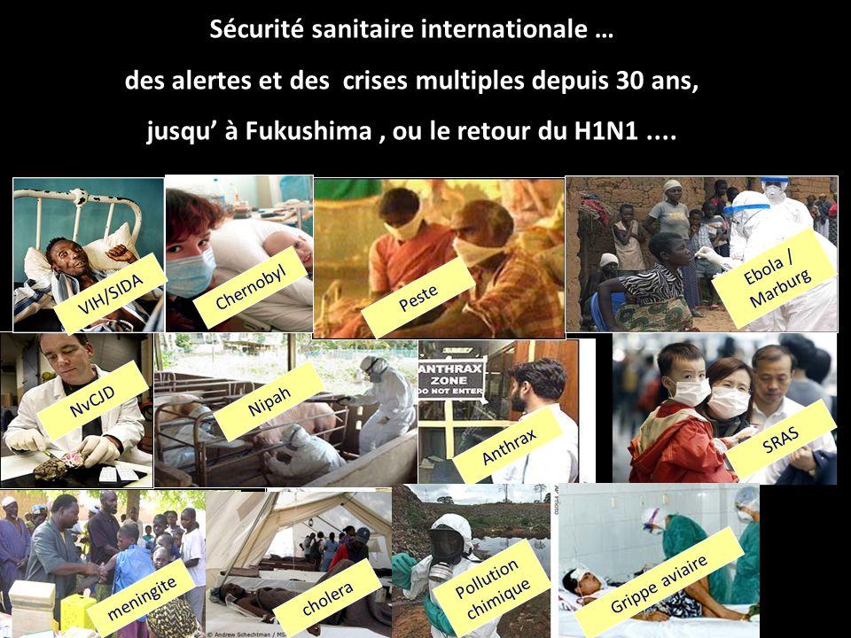 H1N1 : le retour 1 er cas : Mexique 17 03 2009