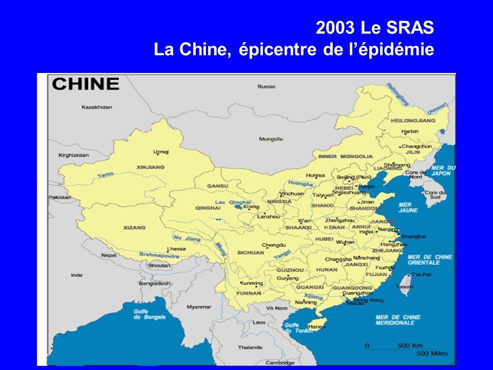 2003 Le SRAS La Chine, épicentre de lépidémie