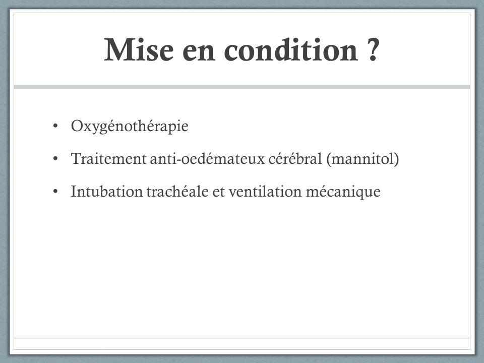 Quel test diagnostic ? Test dantagonisation au flumazenil (Anexate®) Gagné !