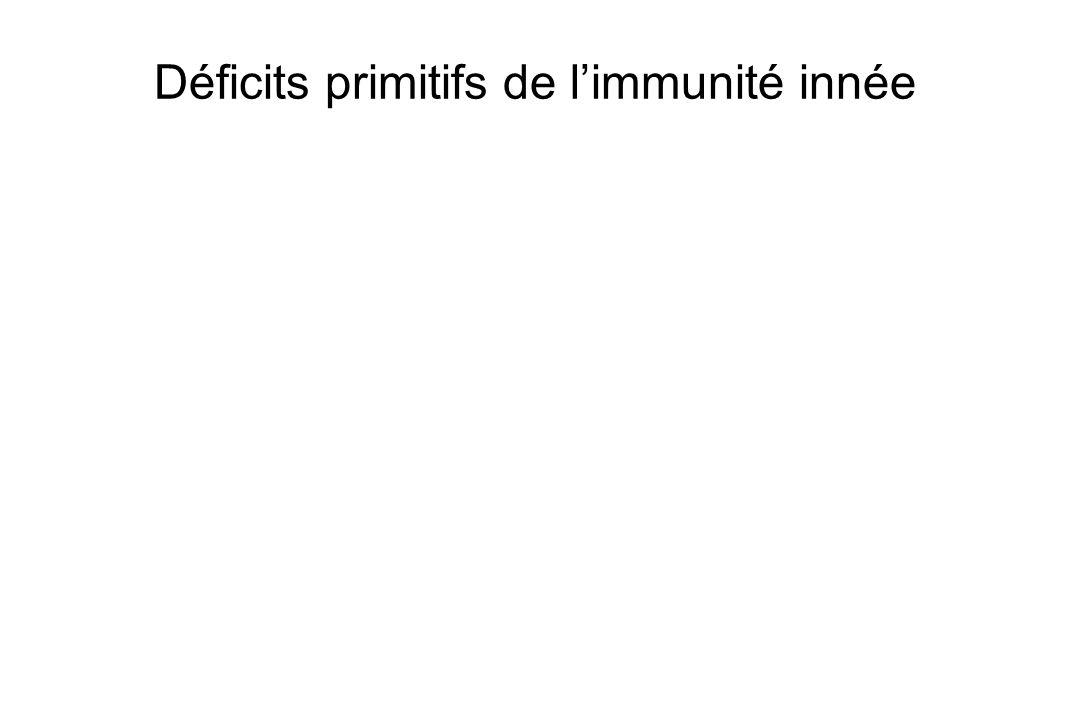 Déficits primitifs de limmunité innée