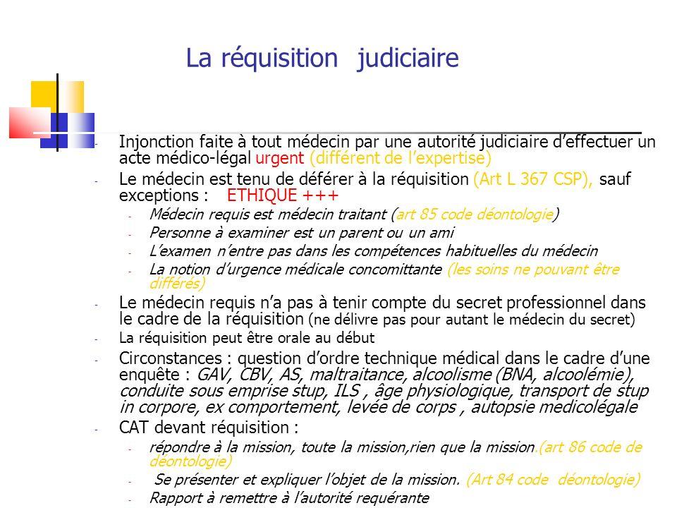 Agression sexuelle : la procédure pénale Dépôt de plaintePas de plainte ( 10 ans) Examen médical sur Examen médical Réquisition judiciaire « simple » (certificat remis à (certificat remis à la lautorité requérante)victime) Enquête policière (parquet) Juge dinstruction Procès