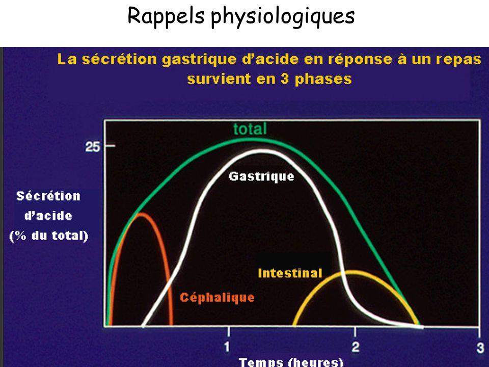 7 Les cellules gastriques et leurs sécrétions Rappels physiologiques