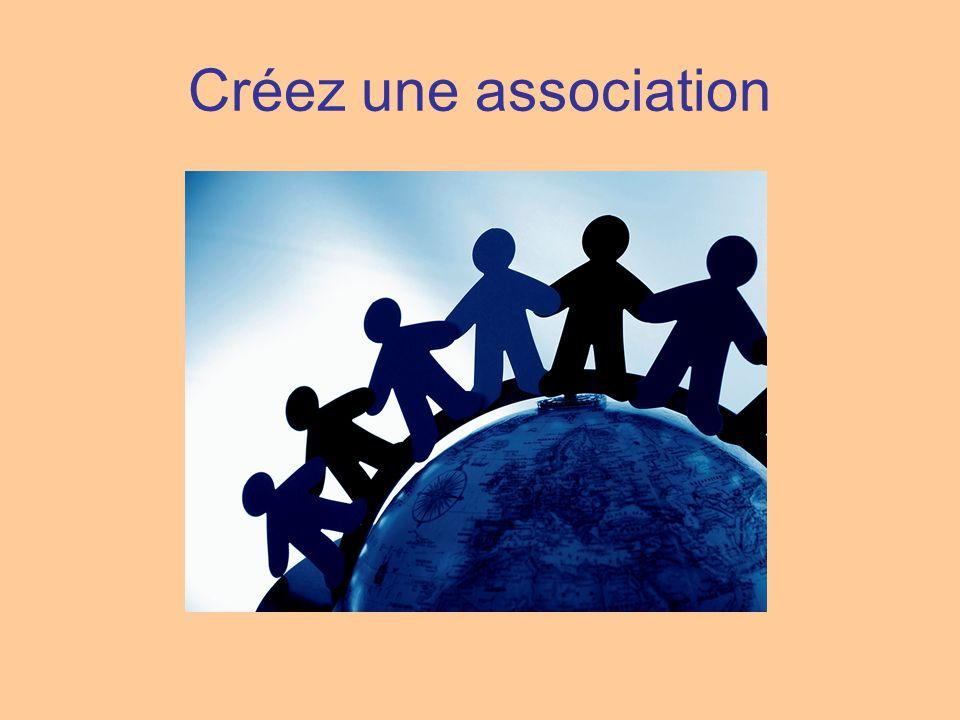 Créez une association