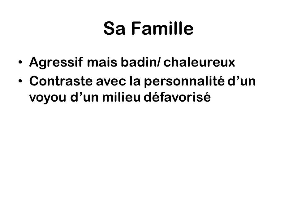 Watch the following key scenes and make notes on the character of Vinz ScèneDétails sur le personnage de Vinz – des citations.