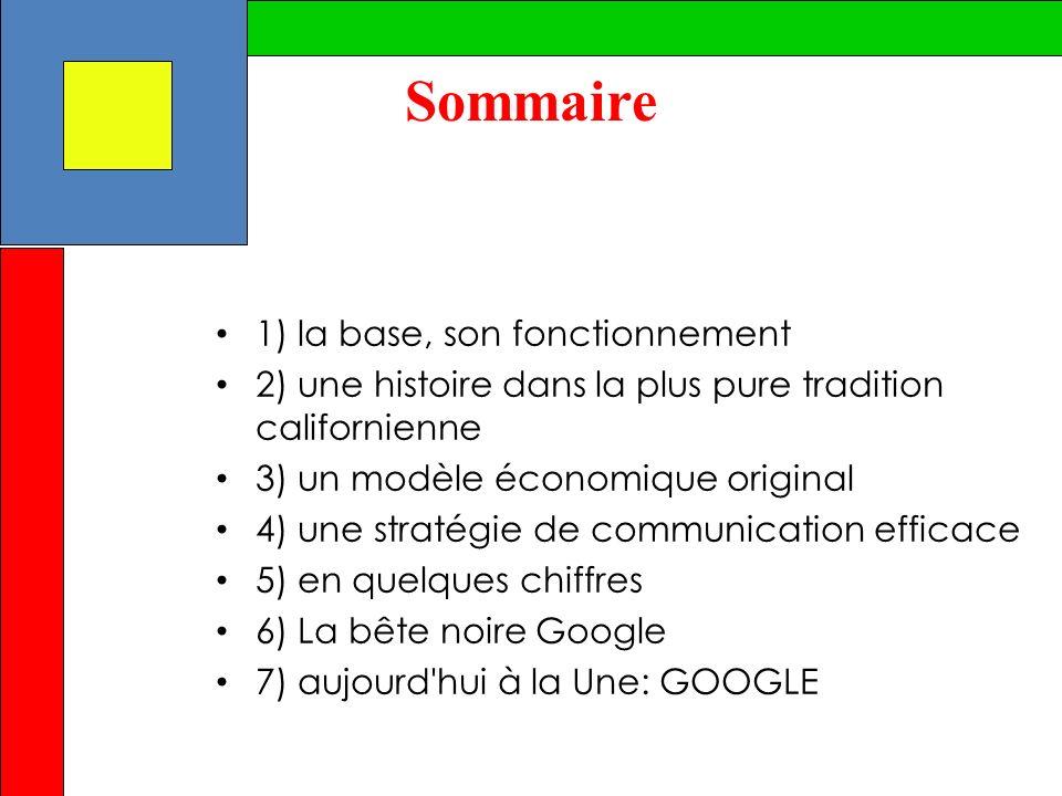 La recherche « le cœur de métier de Google » diversification des compétences pages web, blogs, livres, images, vidéos, articles dactualité, archives de journaux, cartes mondiales, cours de bourse…