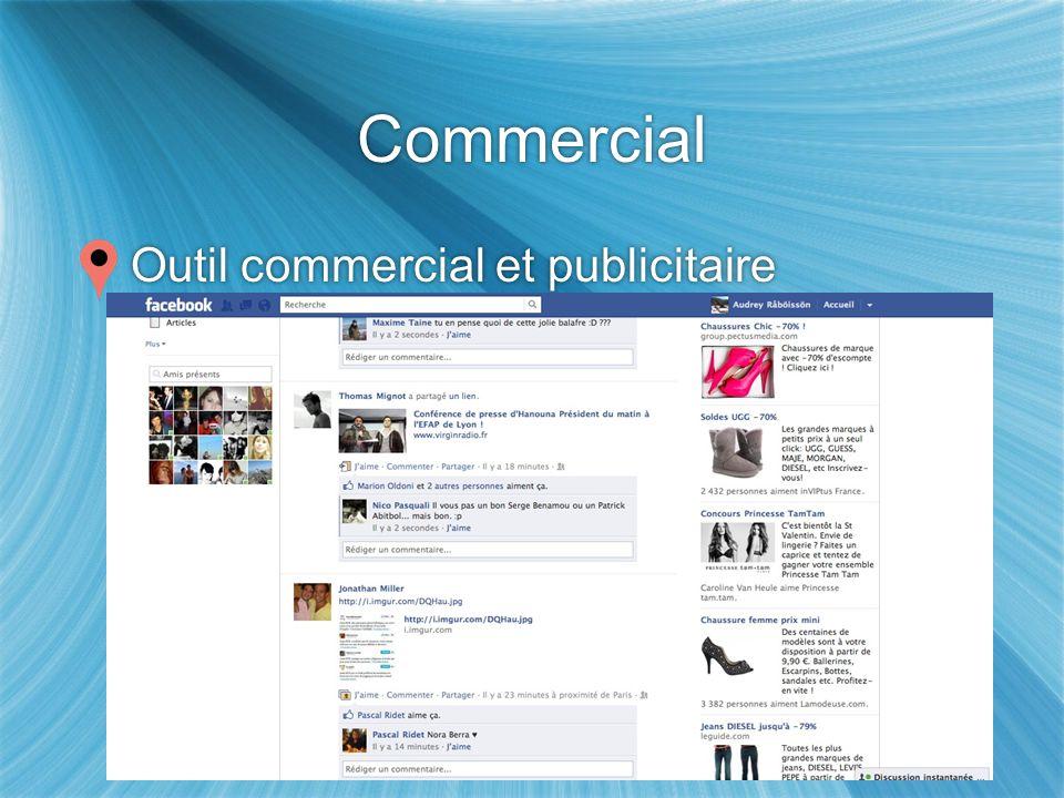 Commercial Outil commercial et publicitaire