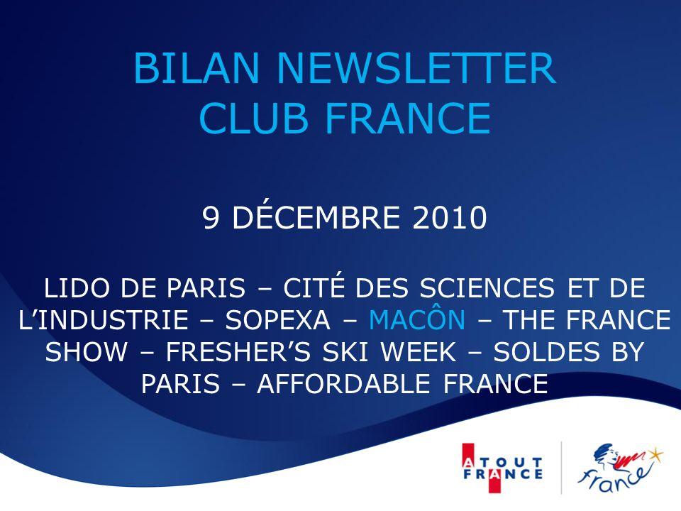 Newsletter Club France