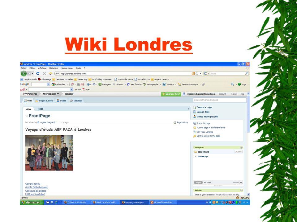 Wiki Londres