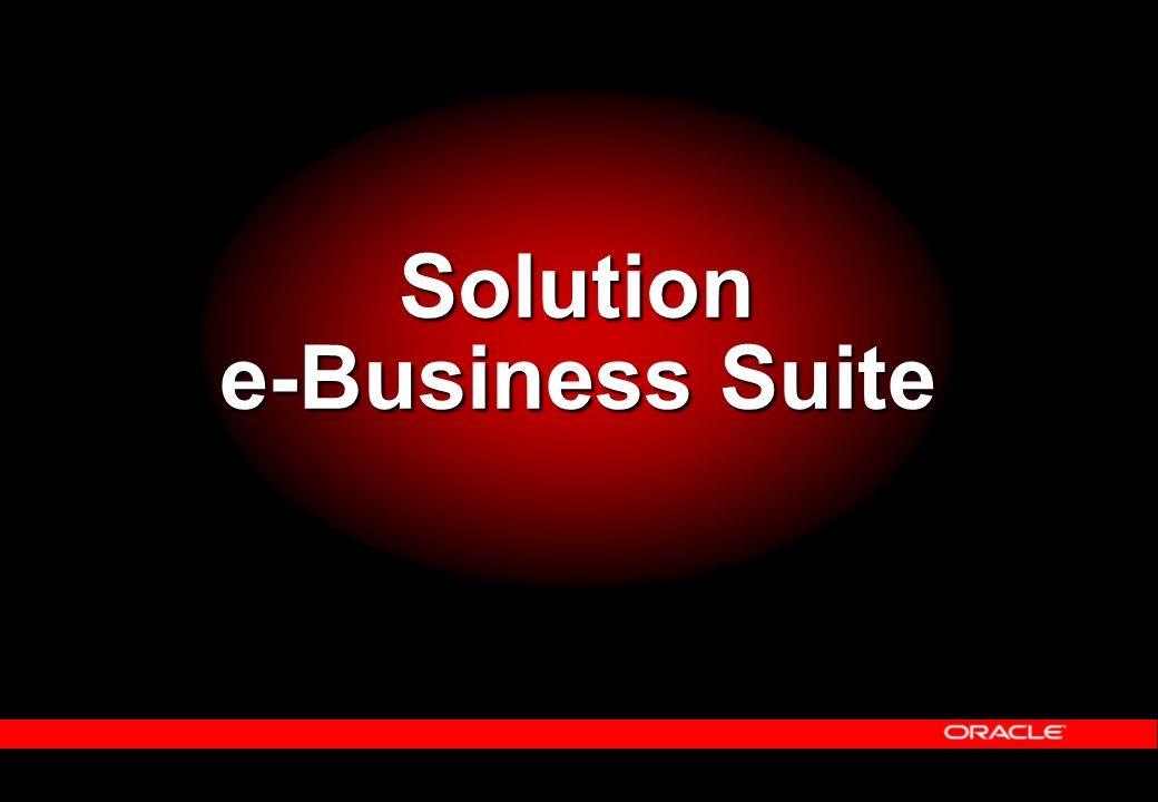 Oracle, Solution Mobile Complète