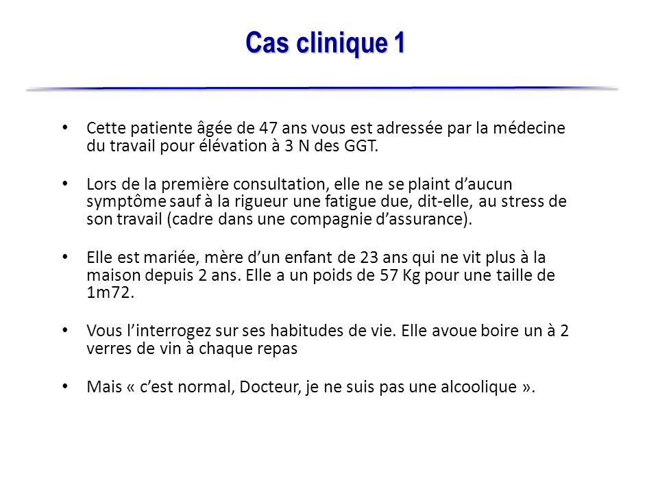 Lexamen clinique est normal, TA 120/70, auscultation cardio- pulmonaire « normale ».