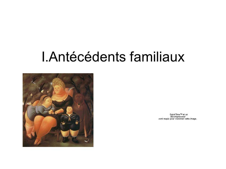I.Antécédents familiaux