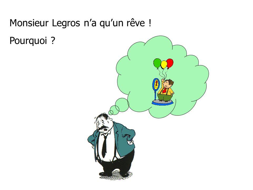 Monsieur Legros na quun rêve ! Pourquoi