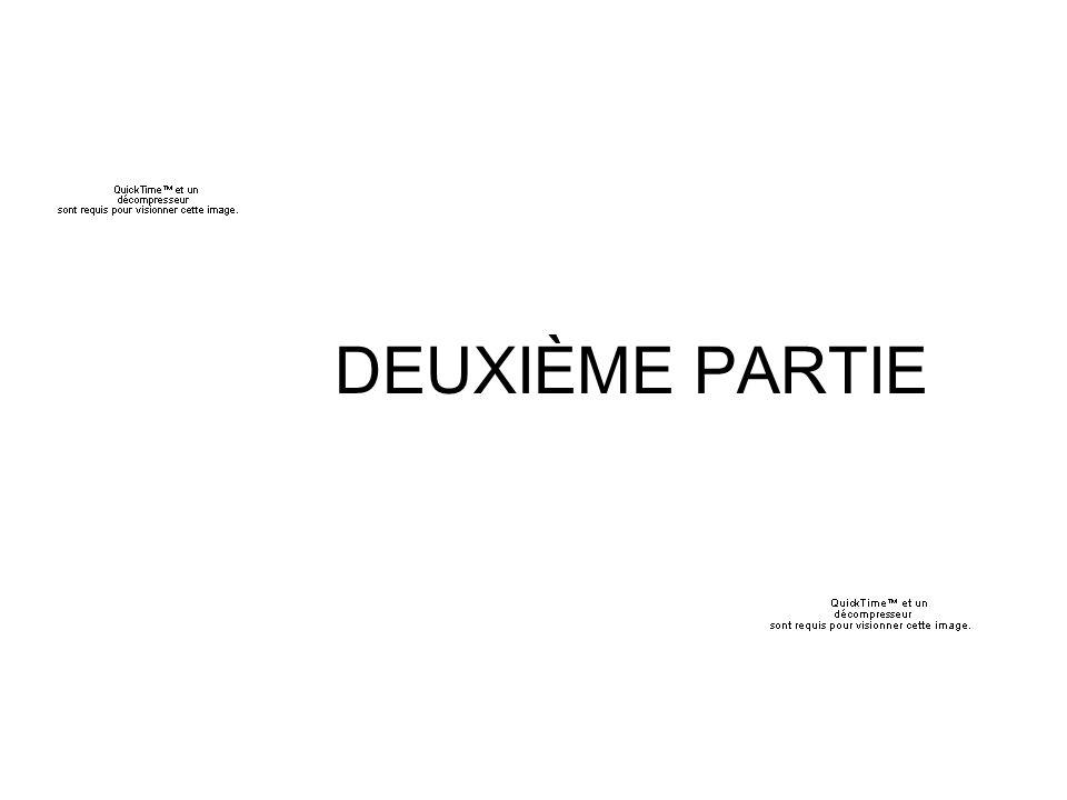 DEUXIÈME PARTIE