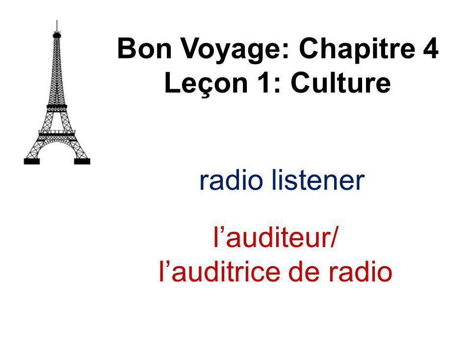 theft Bon Voyage: Chapitre 4 Leçon 1: Culture le vol